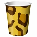 Leopard Animal Print 9oz Cups