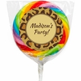 Leopard Animal Print Custom Lollipops