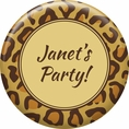Leopard Animal Print Custom Magnet