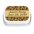 Leopard Animal Print Custom Mint Tins
