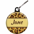 Leopard Animal Print Custom Zipper Pull
