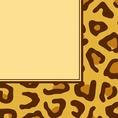 Leopard Animal Print Luncheon Napkins