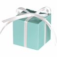 Light Blue Treat Boxes