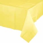 Mimosa Yellow Paper Tablecover