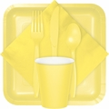 Mimosa Yellow Party Tableware