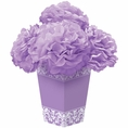 Lilac Flower Centerpiece