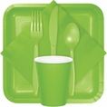 Fresh Lime Party Tableware