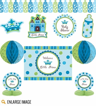 Boys Baby Shower Theme