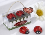 """Love Bug"" Ladybug Magnets"