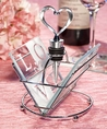 LOVE design coaster and wine bottle stopper sets