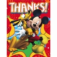 Mickey Fun and Friends Thank You Notes