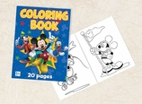 Mickey Mouse Coloring Book