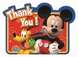 Mickey Postcard Thank You
