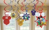 Mickey Swirl Decorations Value Pack