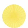"Mimosa Yellow 16"" Tissue Fan"