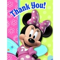 Minnie Mouse Bow-tique Thank You Notes
