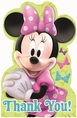 Minnie Mouse Postcard Thank You
