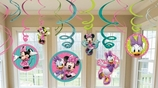 Minnie Mouse Swirl Decorations Value Pack