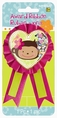 Monkey Love Award Ribbon with Confetti