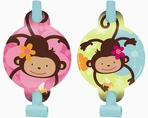 Monkey Love Party Blowers
