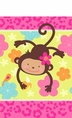Monkey Love Decorative Tablecover