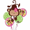 Monkey Love Balloon Bouquet