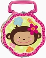 Monkey Love Metal Lunchbox