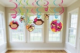 Monkey Love Swirl Decorations Value Pack