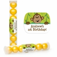 Monkeyin' Around Personalized Candy Tubes