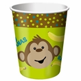Monkeyin' Around 9 oz Cups