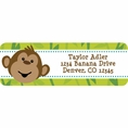 Monkeyin' Around Baby Shower Personalized Address Labels