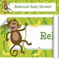 Monkeyin' Around Baby Shower Custom Banner
