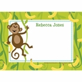 Monkeyin' Around Baby Shower Personalized Thank You Note