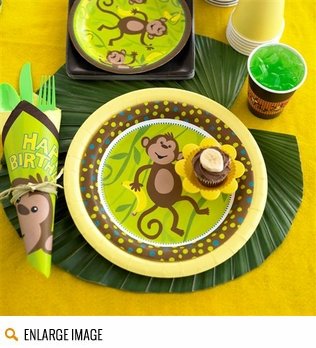 Monkeying Around Birthday Party Supplies Decorations Theme