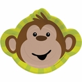 Monkeyin' Around Shaped Dinner Plate