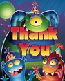 Monster Mania Thank You Cards