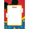 Mouse Custom Birthday Thank You Note