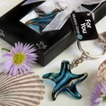 Murano Glass Collection Starfish Keychain