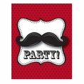 Mustache Madness Invitations
