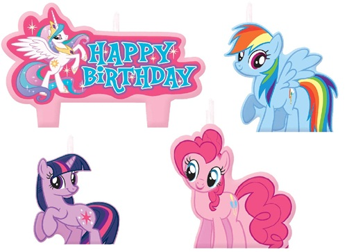 My Little Pony Friendship Candle Set
