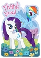 My Little Pony Friendship Thank You Notes