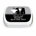 Newlywed Wedding Personalized Mint Tins