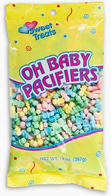Oh Baby Pacifier Candies - Assorted