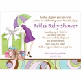 Parenthood Baby Shower Custom Invitation