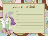 Parenthood Invitations 8 Pack