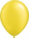 Pearl Yellow Balloons - 8 ct