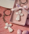 Pink Cross Design Favor Saver Key Chain Favors
