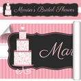 Pink Elegance Bridal Shower Custom Banner