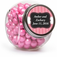 Pink Elegance Custom Candy Jars