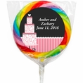 Pink Elegance Custom Lollipops